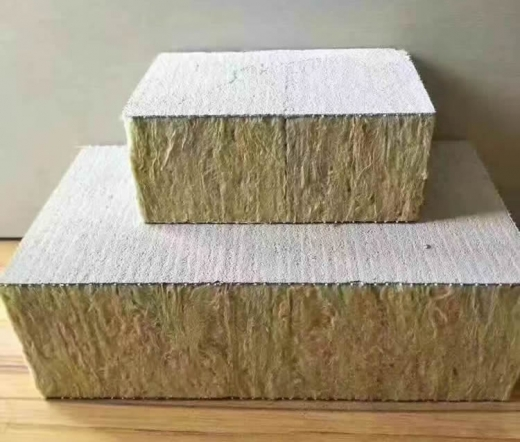 岩棉复合拉毛板