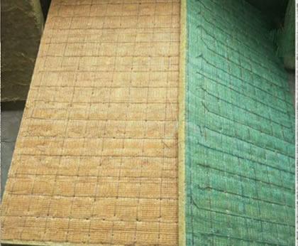 网织增强岩棉板
